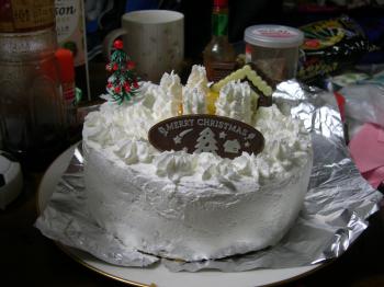 真っ白ケーキ